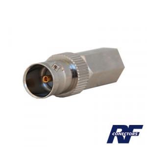Rfb1722 Rf Industriesltd Conector BNC Hembra Rosc