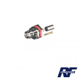 Rft1212 Rf Industriesltd Conector TNC Hembra Herm