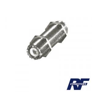 Rfu537 Rf Industriesltd Adaptador Pasamuro Doble