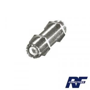 Rfu537 Rf Industriesltd Adaptador Pasamuros De Do