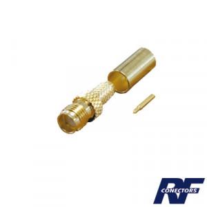 Rp30501c Rf Industriesltd Conector SMA Hembra Inv