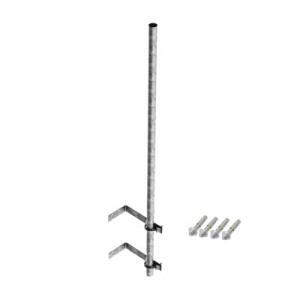 SMRP2 Syscom Towers Mastil de 3 m de 1-1/2 diamet