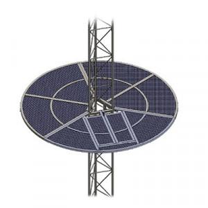 Som45 Syscom Towers Sistema Antiescala Tipo Sombri
