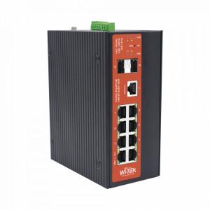 Wipms310gfalieni Wi-tek Switch Industrial PoE 24/
