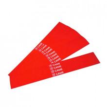 001g02809 Came Paquete De 20 Bandas Reflectantes Rojas Para