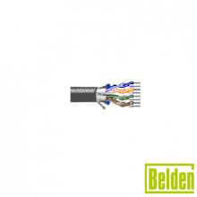 1424a Belden Cable De 12 Pares Trenzados Estanados Aislad
