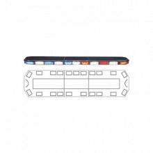 2132270C Code 3 Torreta 47 Serie 21 con 132 LEDs frente