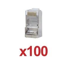 Tc5s100 Linkedpro Paquete De 100 Conectores RJ45 Para Cable