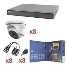 Kh1080p8dw Hikvision KIT TurboHD 1080p / DVR 8 Canales / 8 C