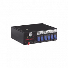 440L6 Code 3 Interruptor deslizante Rocker Max Pak de 3 nive
