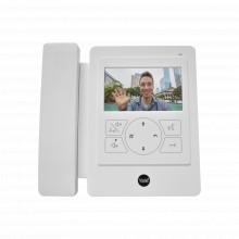 83209 Assa Abloy Monitor Con Telefono Blanco YDV4702 Para Tv