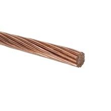 A084 Viakon Cable De Cobre Desnudo Semiduro 7 Hilos Cal. 2/