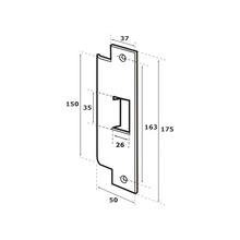 Abl4610 Abloy Contra Para Cerradura Abloy ABLEL410 accesor