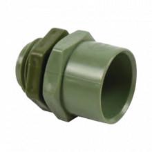 Ec029 Cresco Conector De 1-1/2 Para Tuberia PVC Conduit Pesa