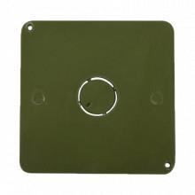 Ect13 Cresco Tapa Para Caja Cuadrada De 1/2 Para Instalacion