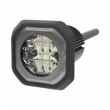 ED9040RB Ecco Lampara Oculta de LED de bajo perfil color roj