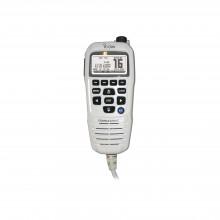 Hm195gw Icom Microfono Comando Color Blanco Y Pantalla En Fo