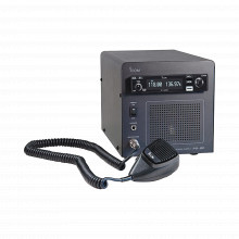 Ica220b Icom Radio Movil Aereo Base IC-A220 Con Fuente De Po