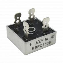 Kbpc3508 Syscom Puente De Diodos Rectificador 35A 800 PIV