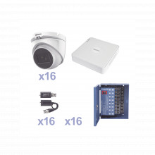 Kestxlt16ew Epcom KIT TurboHD 1080p Lite / DVR 16 Canales /