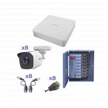 Kestxlt8bw Epcom KIT TurboHD 720p / Incluye DVR 8 Ch / 8 Cam