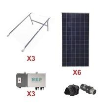 Kit3bdm600poli Epcom Kit Solar Para Interconexion De 1.65 KW