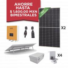 Kitepcom1k450 Syscom Kit Solar Para Interconexion De 1 KW De