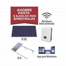 Kitepcom5k330 Syscom Kit Solar Para Interconexion De 5 KW De