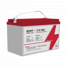 Li10012c Epcom Bateria De Litio Ciclo Profundo 12.8 Vcd 100A