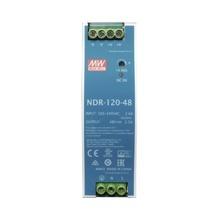 Ndr12048 Meanwell Fuente De Poder Riel Din 48V 120W industri