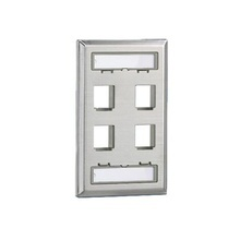Nkf4s Panduit Placa De Pared Vertical Salida Para 4 Puertos