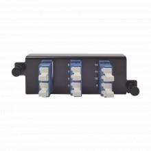 Ppmflcu1201 Siemon Placa Acopladora De Fibra Optica Plug And