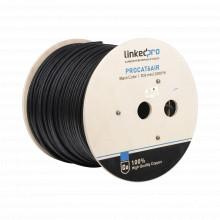 Procat6air Linkedpro Bobina De Cable FTP Con Mensajero De Ac
