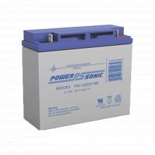 Ps12200nb Power Sonic Bateria De Respaldo UL De 12V 20AH / I