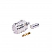 Rfn1027c1 Rf Industriesltd Conector N Hembra De Anillo Pleg