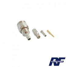 Rfu6003 Rf Industriesltd Conector Mini UHF Macho De Anillo
