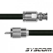 Sbnc214uhf110 Epcom Industrial Cable Coaxial RG-214/U De 110