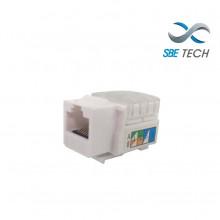 SBT1610008 SBE TECH SBETECH 2302WT- Modulo jack keystone RJ4