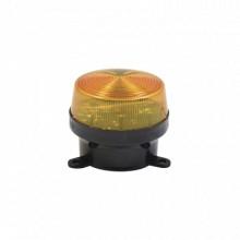 SFSTRA Sfire Mini estrobo color Amber con montaje de pestan