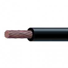 Sly296blk Indiana Cable 8 Awg Color NegroConductor De Cobre