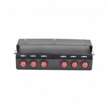 SW6 Epcom Industrial Signaling Switchera con 6 interruptore