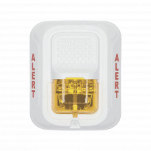 Swlalert System Sensor Lampara Estroboscopica Color Blanco