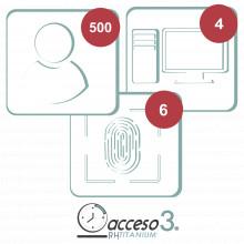 Titaniumii3a Accesspro Licencia De 3 Anos Para Software Acc