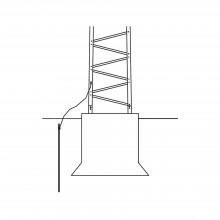 Trytground Trylon Sistema De Aterrizaje Basico Para Estructu
