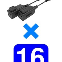 TVT4450044 UTEPO UTEPO UTP101PHD6PAK16 - 16 Pares de transce