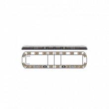 VTG60A Ecco Torreta ambar de 60 Vantage 20 LED 2 luce
