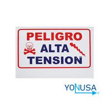 YON6510005 Yonusa YONUSA LPVOLTAS - Letrero generico de alta