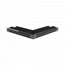 Z6aspnlau48k Siemon Patch Panel Z-MAX Categoria 6A Blindado