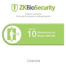 Zkbseleonlineprj Zkteco Licencia Para Zkbiosecurity Para Mod