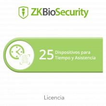 Zkbsta25 Zkteco Licencia Para ZKBiosecurity Permite Gestiona